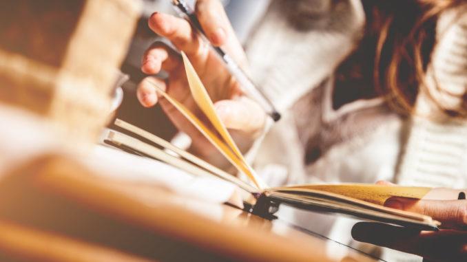 Il wedding diary, ovvero l'arte di organizzare un matrimonio perfetto.