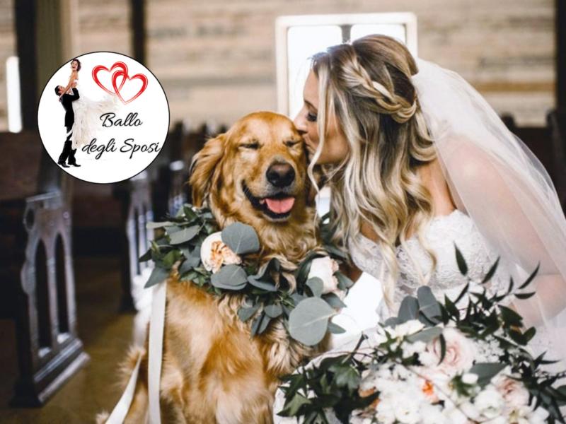 Un matrimonio dog friendly anche per il primo Ballo degli Sposi