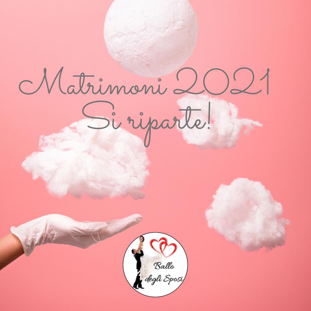 Matrimonio covid free 2021